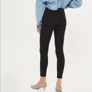 TopShop Moto Joni High Waist Black Skinny Jeans